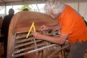 <h5>Les charpentiers hollandais à l'oeuvre sur le port de Vannes</h5>