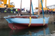 <h5>Mise à l'eau du coquillier Saint-Guénolé</h5>
