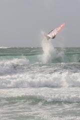 <h5>Compétition de windsurf à La Torche</h5>