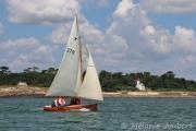 <h5>Devant le phare de Sainte-Marine</h5>
